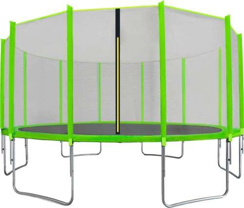 Aga Sport Top külső hálós Trambulin 488cm #világoszöld