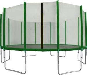 Aga Sport Top külső hálós Trambulin 488cm #sötétzöld 31521812 Szabadtéri játékok és felszerelések