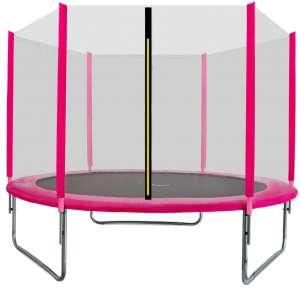 Aga Sport Top külső hálós Trambulin 244cm #rózsaszín 31521825 Trambulin