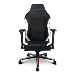 ArenaRacer Titan – Fekete/Fehér gamer szék