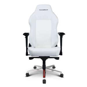 ArenaRacer Titan – Fehér/Fehér gamer szék