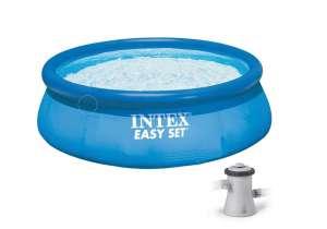 Intex EasySet felfújható Medence vízforgatóval 305x76cm (28122GN) 31526811 Kerti medence