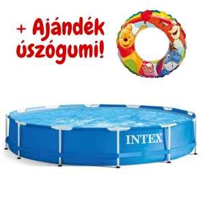 Intex Metal Frame fémvázas Medence 305x76cm (28200NP)+ajándék úszógumi