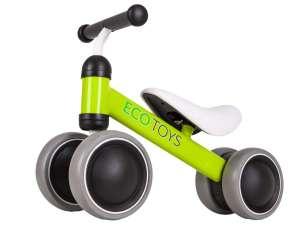 Ecotoys Mini 2in1 négykerekű Futóbicikli #zöld