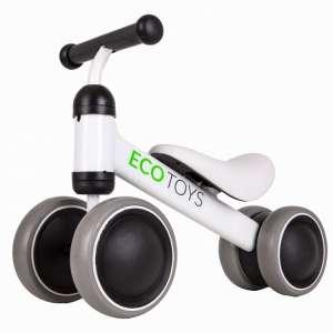 Ecotoys Mini 2in1 négykerekű Futóbicikli #fehér