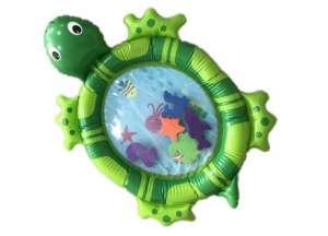 Aga vízzel tölthető Hasalómatrac 66x50cm - Teknős #zöld