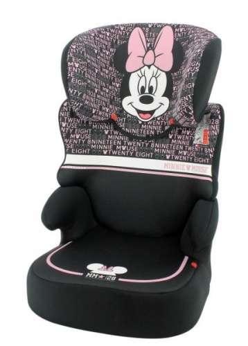Nania Disney Befix SP biztonsági Gyerekülés 15-36kg - Minnie Mouse #fekete
