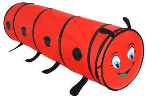 Aga Mászó alagút - Katica #piros 31536669 Játszósátor, játszóház, alagút