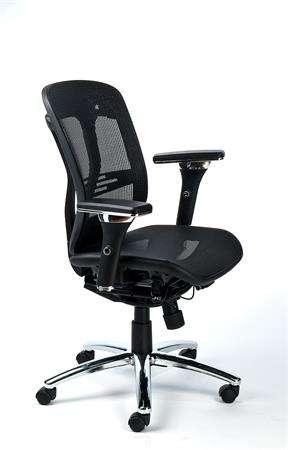 Mayah Crown irodai forgószék karfával, fejtámlával Irodai székek
