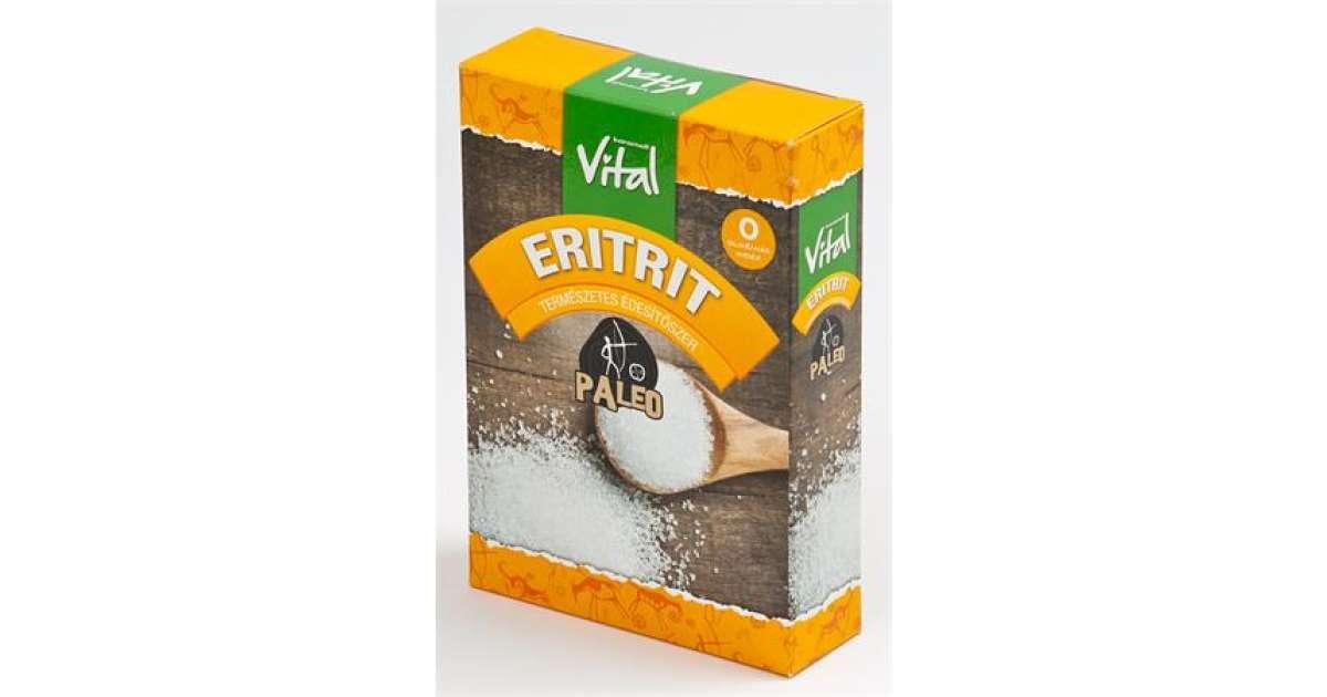 Édesítőszer, eritrit, 250 g, VITAL - Pepita.hu