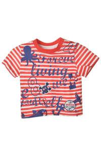 Boboli fiú Póló - Csíkos és feliratos #piros 31576853 Gyerek póló
