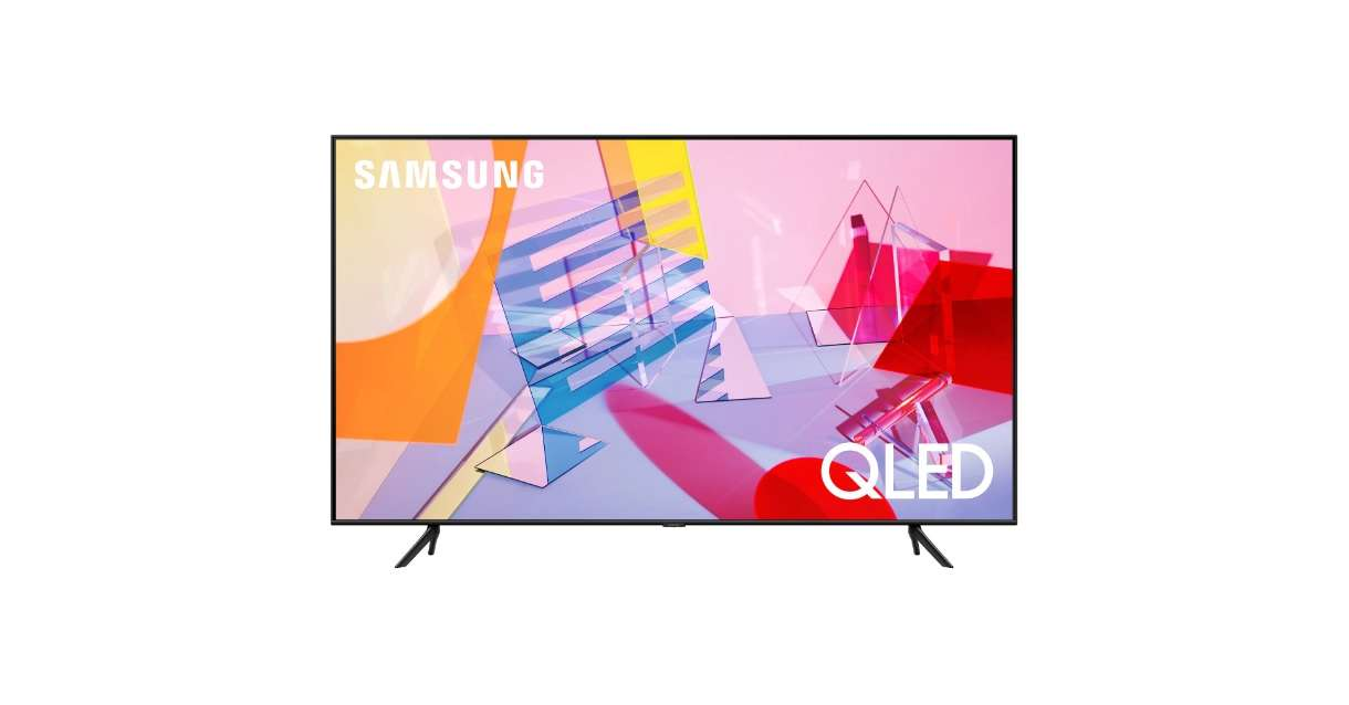 Samsung 65 QE65Q60T 4K Smart TV - fekete
