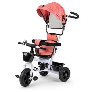 Ecotoys acélvázas Tricikli kosárral és csengővel #rózsaszín 31623520 Tricikli
