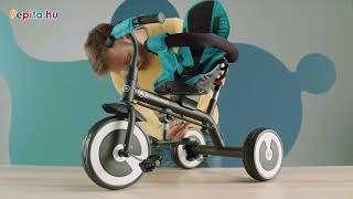 Kinderkraft Aston megfordítható Tricikli #türkiz