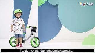 Kinderkraft 2Way Next Futóbicikli #zöld-szürke